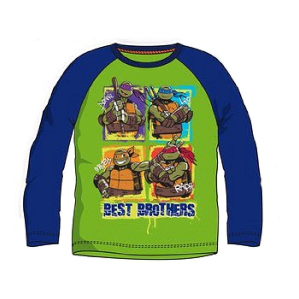 Las Tortugas Ninja - Camiseta de Manga Larga Multicolor 3 ...