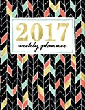 img - for Weekly Planner: Mint, Coral & Gold Weekly & Monthly Planner & Organizer (Creative Journaling & Hand Lettering Series) book / textbook / text book