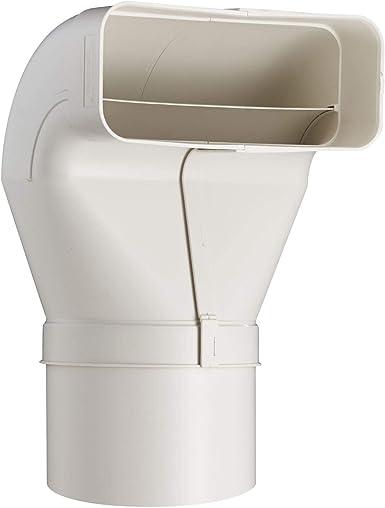 OptimAiro 568994 - Conducto plano de inversión (222 x 89 mm, con tubo de empalme de 150 mm de diámetro): Amazon.es: Grandes electrodomésticos