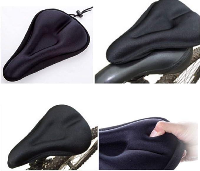 Funda para sillín de bicicleta, cubierta para sillín de bicicleta ...