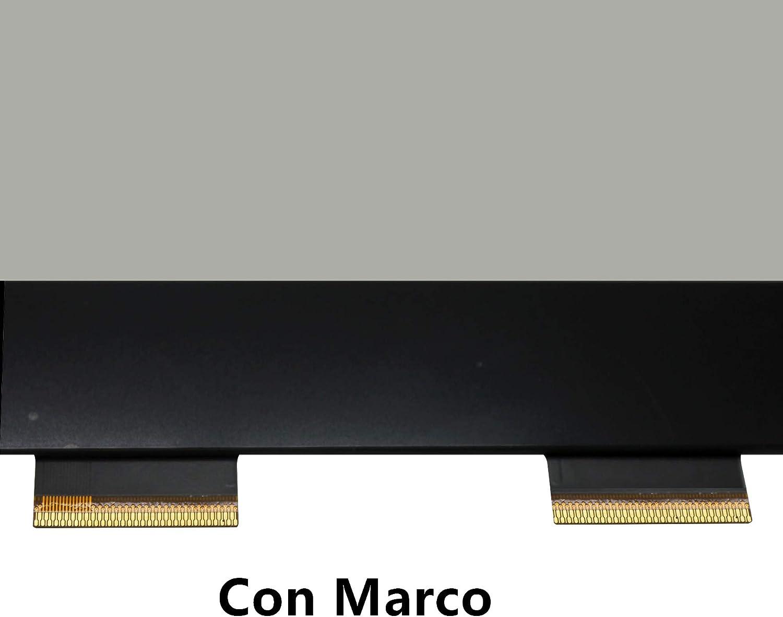 FTDLCD® 15.6 Pantalla Táctil Digitalizador Frente de Vidrio Reparar Pantalla de Computadora para Toshiba Satellite P55W-C5200 P55W-C5210 (con Marco): Amazon.es: Electrónica