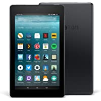 "Fire 7 Tablet, 7"" Display, 16 GB, Black"