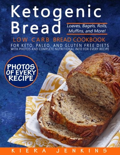 Ketogenic Bread Cookbook Complete Nutritional product image