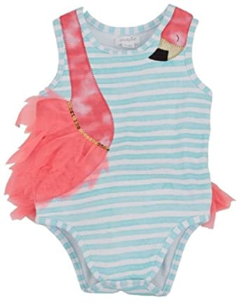 738b4a928 Mud Pie Infant Flamingo Tutu Crawler Onesie - Sizes up to 12 Months by (3