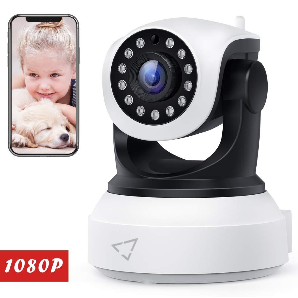 Victure Cámara de Vigilancia FHD,1080P Cámara IP WiFi con Detección de Movimiento,Visión Nocturna,Audio de 2 Vías, 2.4GHz WiFi, Compatible con iOS/Android product image