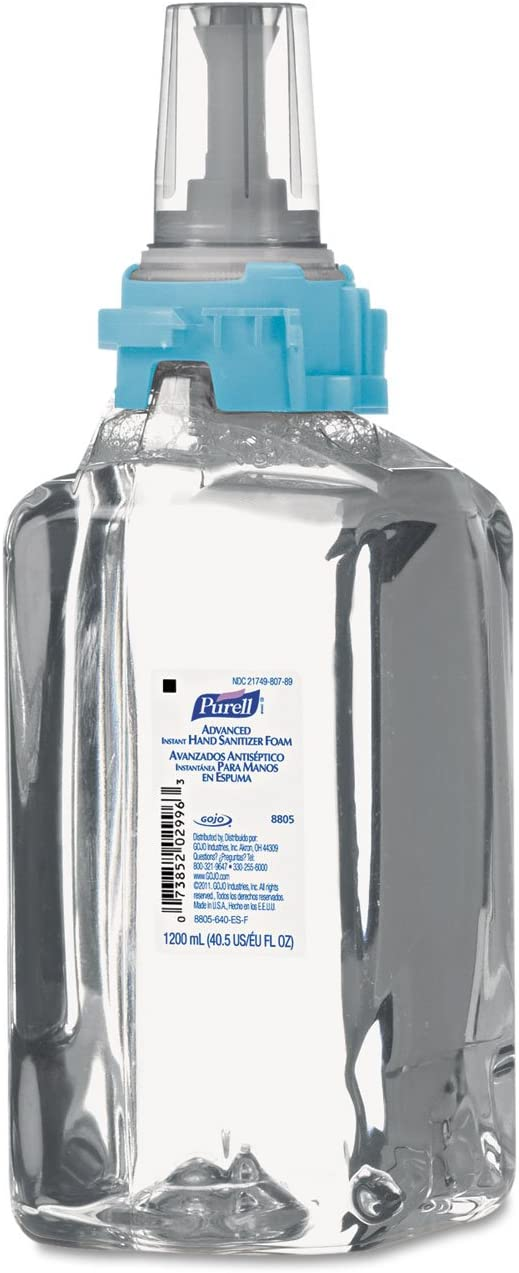Amazon Com Goj880503ea Purell Advanced Hand Sanitizer Foam