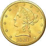 1901 S Coronet Head $10, Eagle PCGS MS64