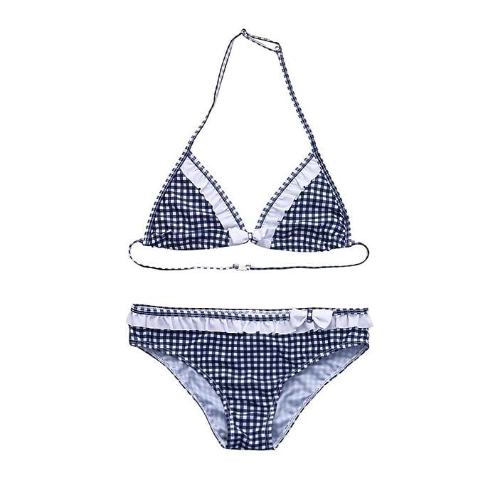 Bañador para niña K-Youth® Verano Niña Conjunto de Bikini Niñas ...