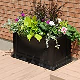 Mayne Fairfield 5826C Patio Planter, 20-Inch by 36-Inch
