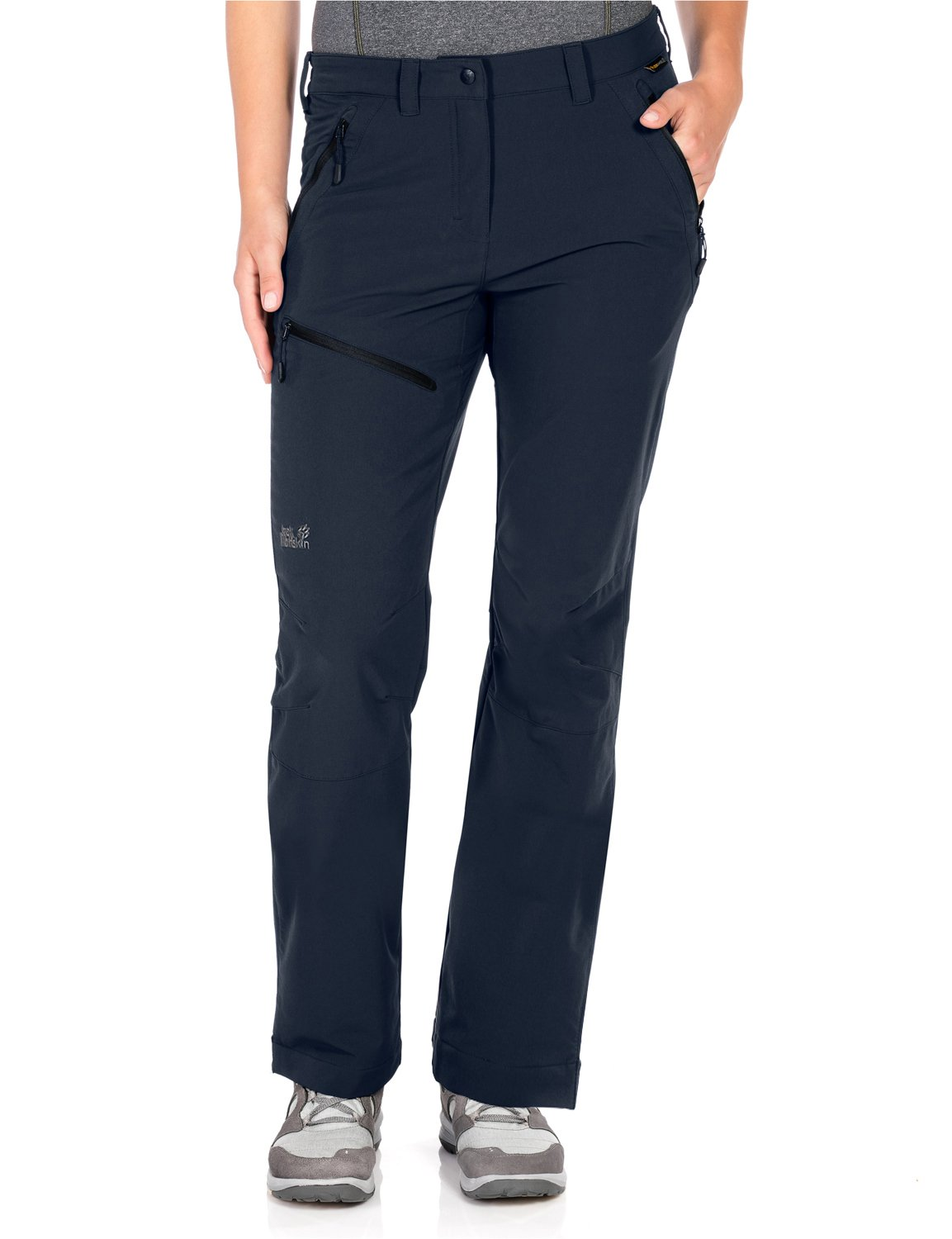 Jack Wolfskin Women's Activate Pants, Night Blue, Size 44 (US 34)