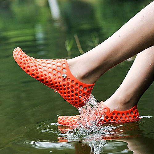 Shoes Lightweight Shoes Water Orange Sneakers Multifunction Couple Sports Men's Quick Women's Athletic VILOCY Dry Aqua vqgBwg