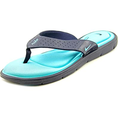 511ee8d245b New Nike Comfort Thong Sandal Obsidian clearwater 6  Amazon.co.uk ...