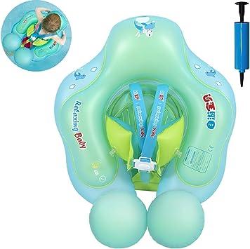 Myir Flotador bebé, Anillo de Natación para bebés de Piscina ...