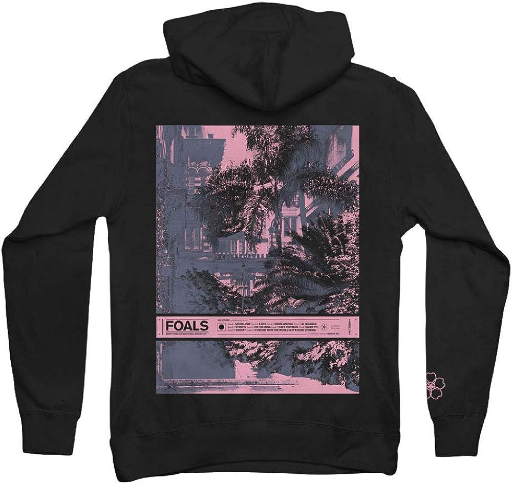 Foals Cover Split Men's Hooded Sweatshirt Black