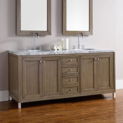 amazon com james martin chicago 72 in double bathroom vanity home rh amazon com james martin 48 bathroom vanity james martin 30 bathroom vanity