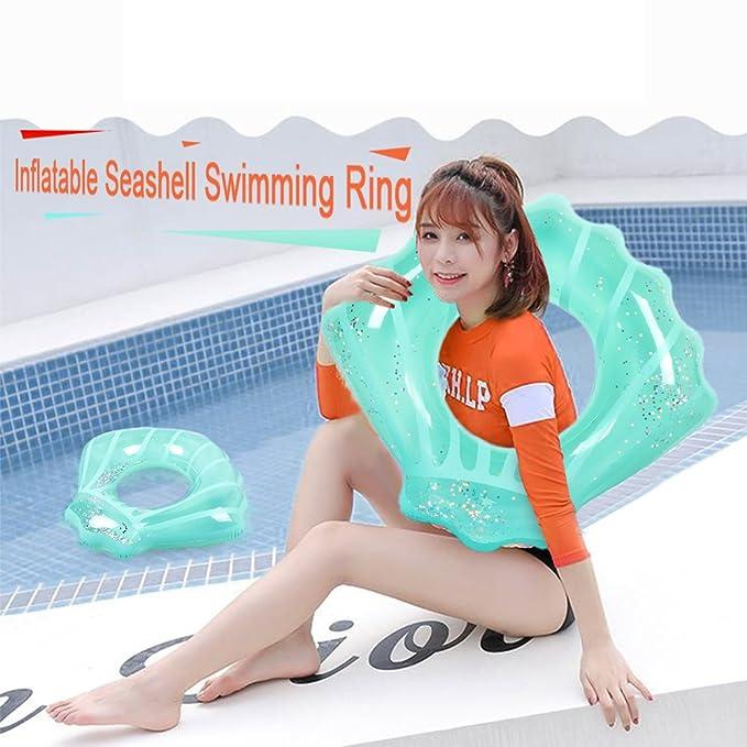 Goolsky Anillo de natación Inflable Concha Piscina Balsa Verano Piscina Salón Flotador Piscina Fiesta Juguetes para adultos y niños: Amazon.es: Juguetes y ...