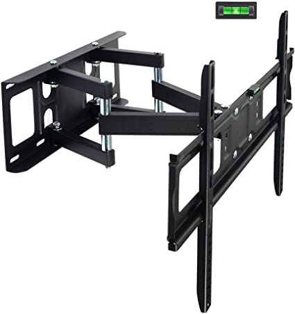 Dual Arm Tilt Swivel TV Wall Mount For Samsung Sony Vizio LG Hisense RCA Toshiba