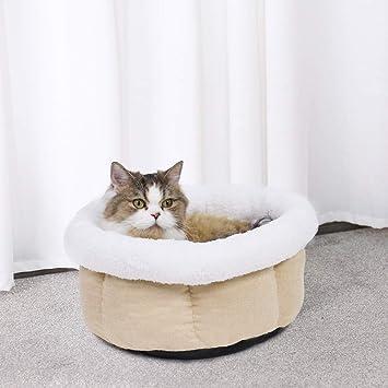 BMD-PET Cama del Gato, Cama Suave para Gatos Gatito Nido Perro de Lujo