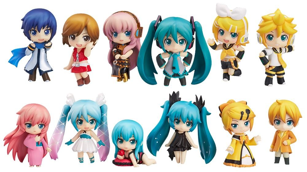 Character Vocal Series Petit Nendgoldid Hatsune Miku Selection (nonscale ABS & PVC painted action figure trading)