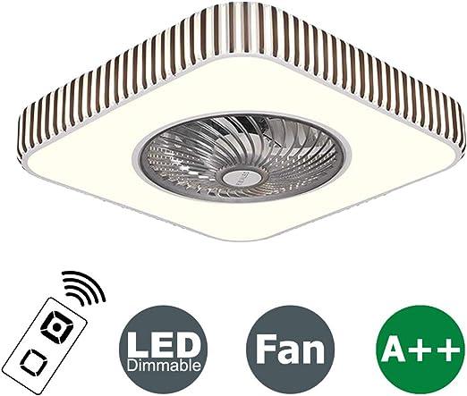 XMYX Ventilador de Techo con Luz y Mando a Distancia APP Bluetooth ...