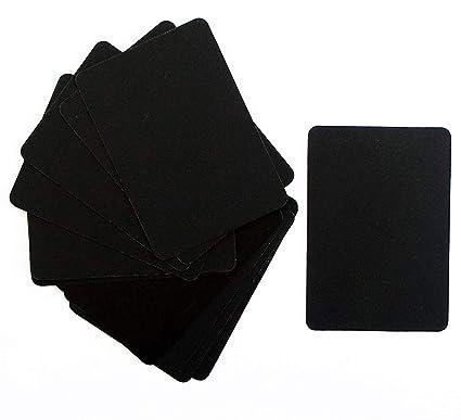 Juego de 15 mini pizarras de plástico, 7 x 10 cm: Amazon.es ...