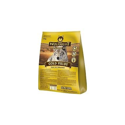 Wolf sangre Gold Fields Senior, 1er Pack (1 x 2 kg): Amazon ...