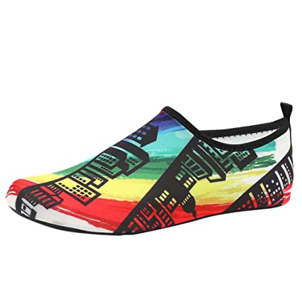 Qiiueen Zapatos De Agua, Parejas Calcetines De Buceo ...