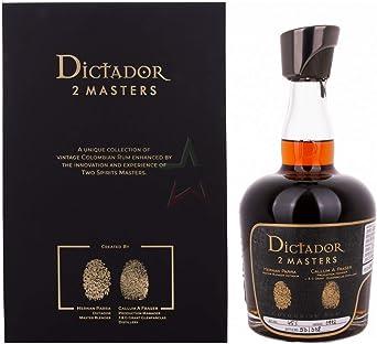 Ron Dictador 2 Masters Glenfarclas 1972 700ml: Amazon.es ...