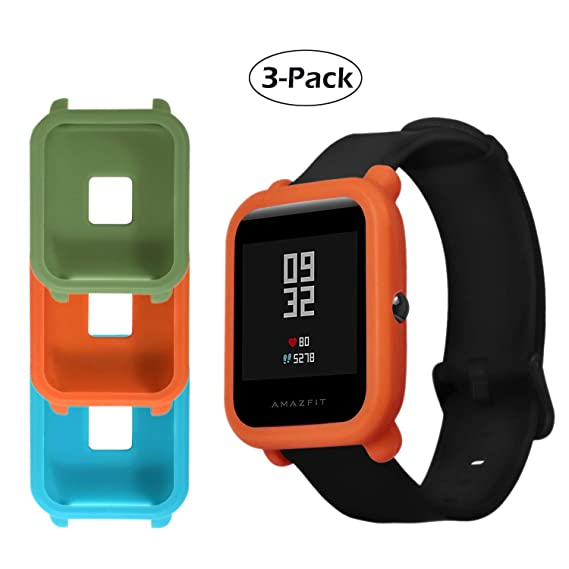 Amazon.com: for Xiaomi Huami Amazfit Bip Youth Protector ...