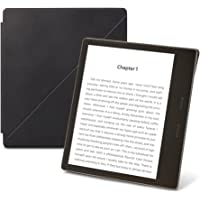 Amazon Kindle Oasis Premium Leather Standing Cover (9th Generation – 2017 release), Midnight Black