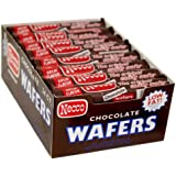 NECCO Necco Wafers, Chocolate Rolls, 2.02-Ounce Packages (Pack of 24)