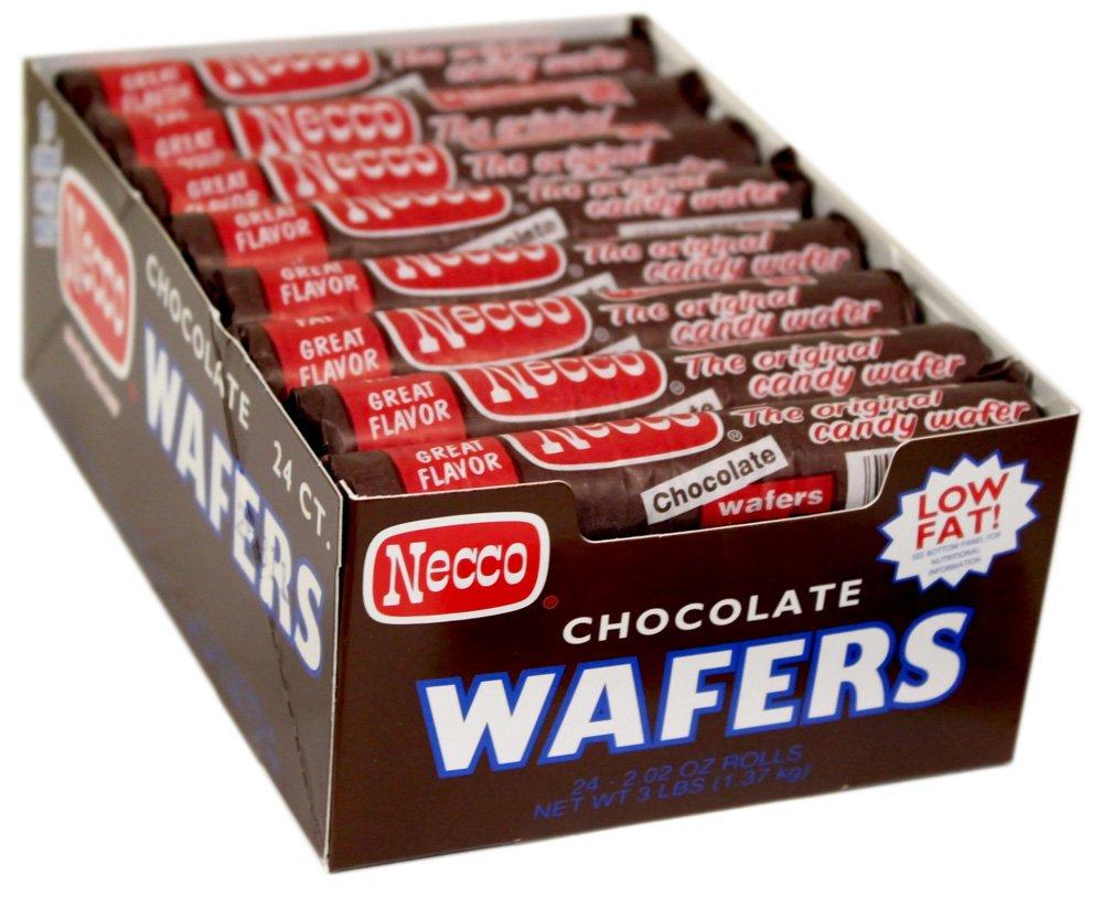 Amazon.com: NECCO Necco Wafers, Chocolate Rolls, 2.02-Ounce ...