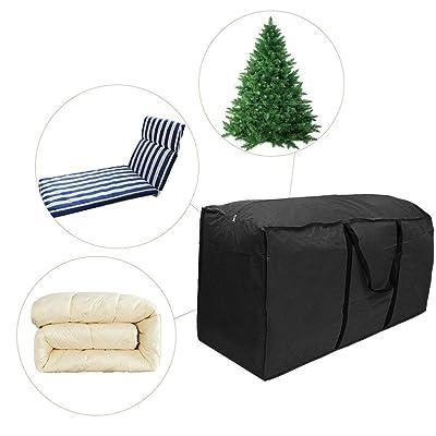NMSLA Outdoor Furniture Cushion Storage Bag Cushion Cover Storage Bag Multi-Function Storage Bag Incredible: Home & Kitchen