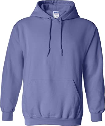 Gildan - Sudadera gruesa con capucha de combinación de tejidos Unisex  (Pequeña (S) 1bec09fe4730a
