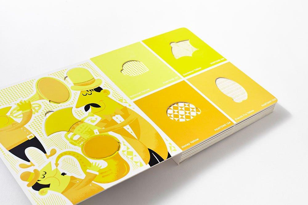Amazon Com Pantone Color Puzzles 6 Color Matching Puzzles