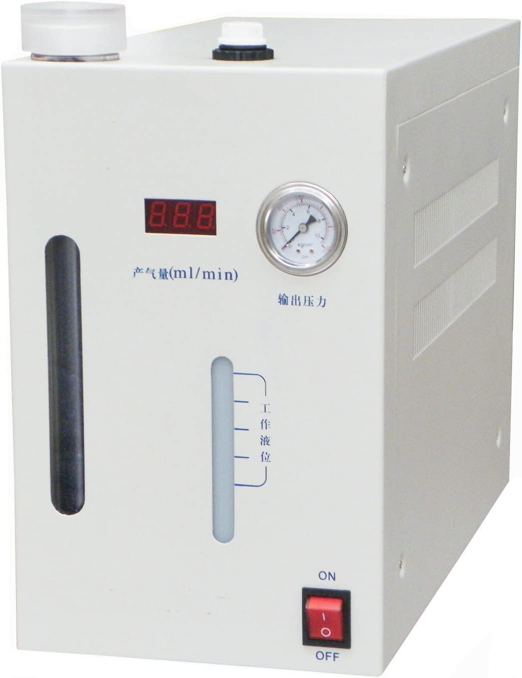 MXBAOHENG High Purity Hydrogen Gas Generator Maker H2 0-1000ml Min H2 Making Machine 110V