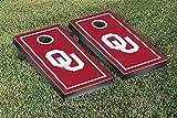 Oklahoma Sooner Cornhole Game Set Border Version