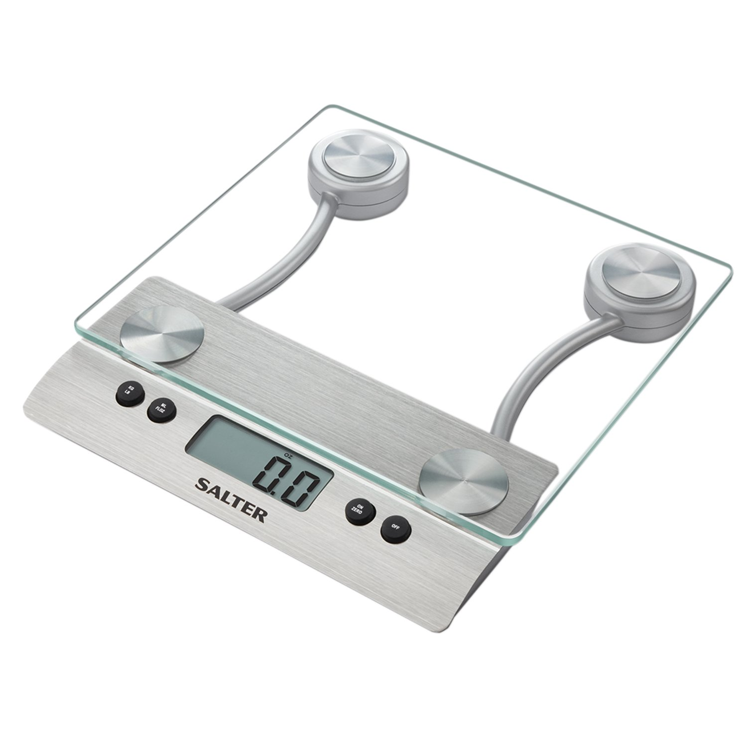 amazon com salter aquatronic glass electronic kitchen scale rh amazon com