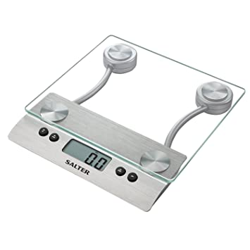 Superior Salter Aquatronic Glass Electronic Kitchen Scale
