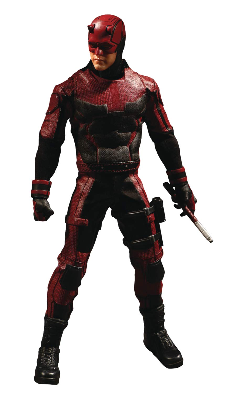 Mezco Toys One:12 Collective: Marvel Netflix Daredevil アクションフィギュア B07GC13ZHH