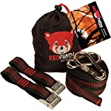 RED PANDA Outdoors HOLDFAST Hammock Straps - Top-Notch Hammock Tree Straps Combined 25 Ft Long - Must-Have Camping Accessories For Any Hammock Like ENO
