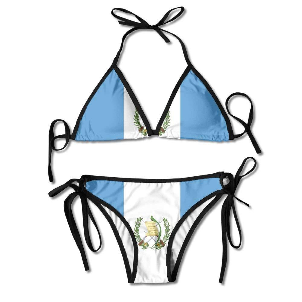 Bandera de Guatemala Trajes de baño Bikinis Tanga Traje de baño ...