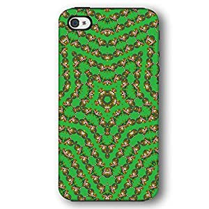 Kaleidoscope Christmas Bear with Candy Cane Diy For Touch 5 Case Cover Armor Phone Case
