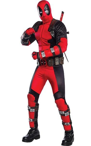 Rubies 811000STD Deadpool - Disfraz para Hombre, Multicolor ...