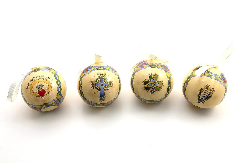 Amazon.com: Royal Tara Irish Christmas Ornaments - Globe Baubles ...