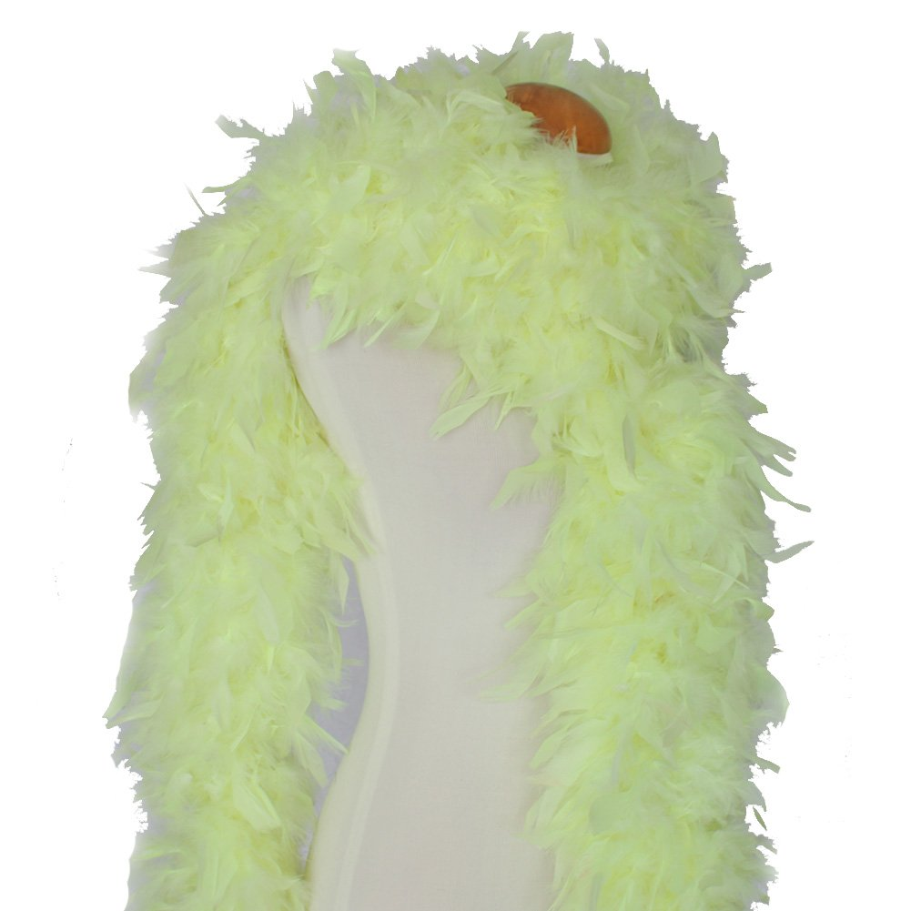 Cynthias Feathers 180g 80 Turkey Chandelle Feather Boas Over 25 Color /& Patterns Regal Purple