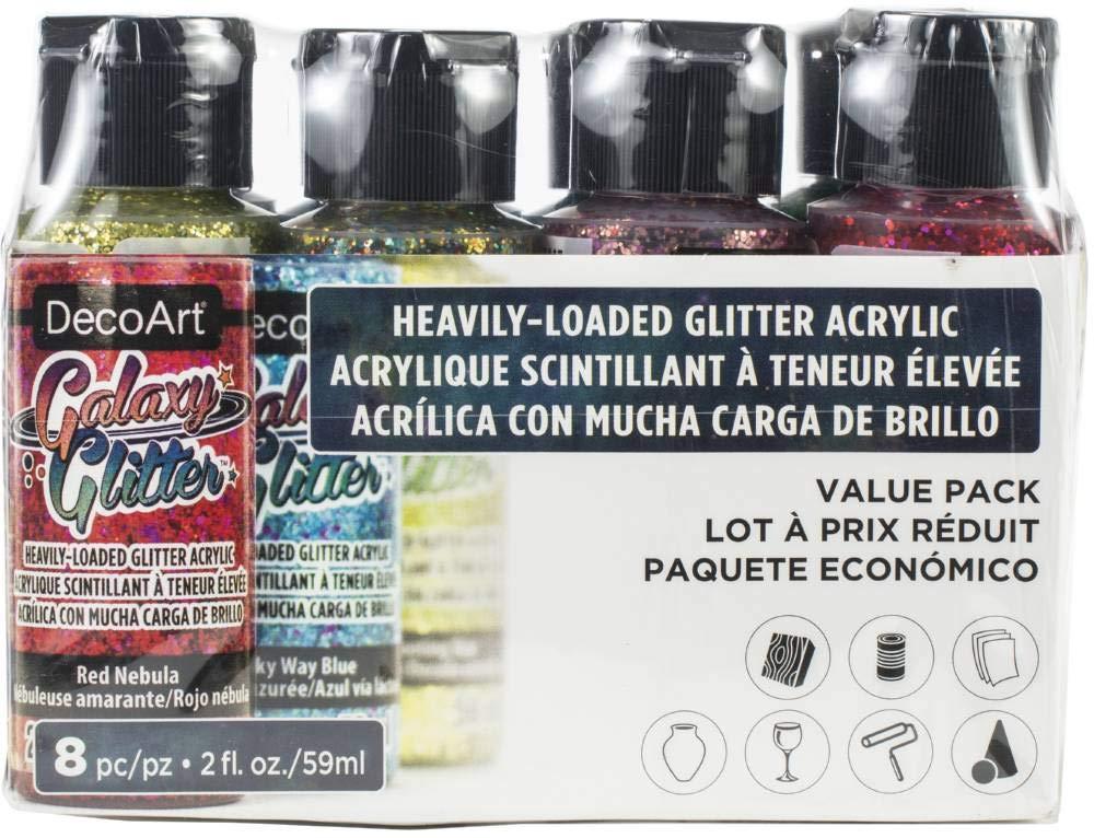 Galaxy Glitter Value Pack 8/pkg-multi Color