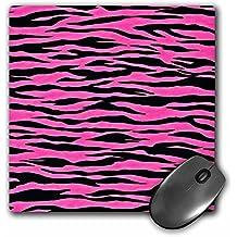 Lee Hiller Designs RAB Rockabilly - Pink and Black Zebra Print 2 - MousePad (mp_25468_1)