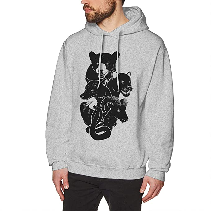 c912c6ef336a Amazon.com  Men s Hooded Sweatshirt We Own The Night Hoody Black ...