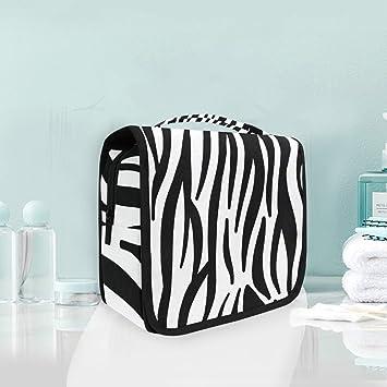 Neceser Colgador con diseño de Cebra Abstracto con Textura de ...